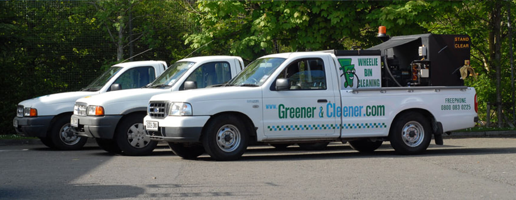 greener cleener glasgow bin cleaning slide1