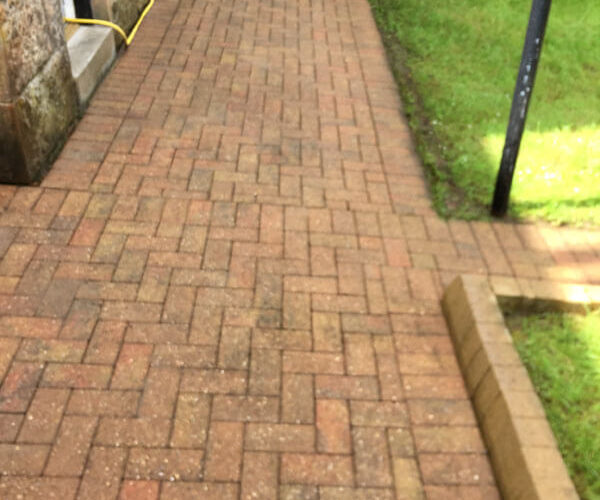 Patio Cleaning Glasgow After C1